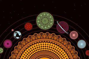 Солнечная система и чакровая система человека