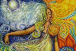 Цвета энергий Великой Богини