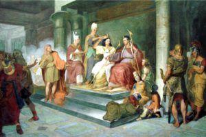 Клеопатра Первый брак