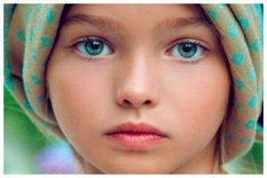 Дети с синей аурой