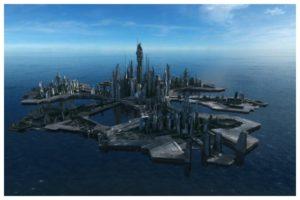 История возникновения Атлантиды